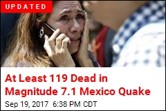 Another Big Earthquake Jolts Mexico