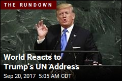 World Reacts to Trump's UN Address
