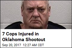 7 Cops Injured in Oklahoma Shootout