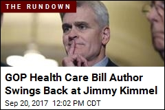 GOP Health Care Bill Author: Kimmel 'Does Not Understand'