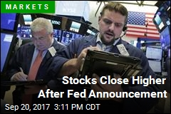 Stocks Close Higher After Fed Announcement