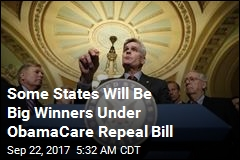 Some States Will Be Big Winners Under ObamaCare Repeal Bill