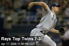 Rays Top Twins 7-3