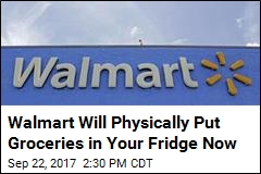 Walmart Will Physically Put Groceries in Your Fridge Now
