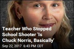 Teacher Who Stopped School Shooter Identified
