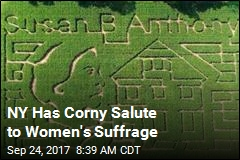 NY Has Corny Salute to Women's Suffrage