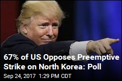 Poll: Just 37% of US Trusts Trump on North Korea
