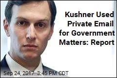 Kushner Used Private Email for Government Matters: Report