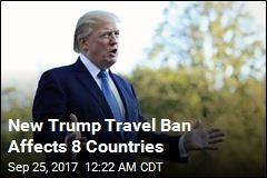 New Trump Travel Ban Includes N.Korea