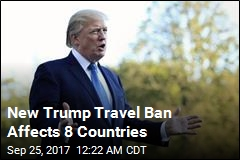 New Trump Travel Ban Includes N.Korea
