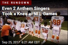 1 in 8 NFL Players Didn't Stand for the Anthem