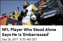 Steelers Player Didn't Mean to Stand Alone During Anthem