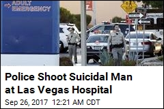 Police Shoot Suicidal Man At Las Vegas Hospital