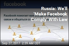 Russia Threatens to Block Facebook
