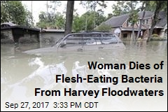 Woman Falls Into Harvey Floodwaters, Dies of Flesh-Eating Bacteria