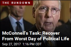 McConnell's Task: Recover From Worst Day of Political Life