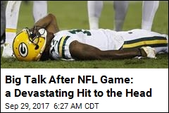 Big Talk After NFL Game: a Devastating Hit to the Head