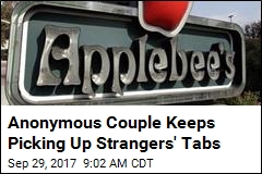 Anonymous Couple Keeps Picking Up Strangers' Tabs