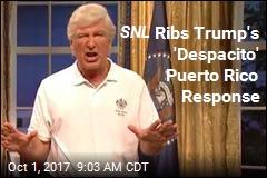 SNL Ribs Trump's 'Despacito' Puerto Rico Response
