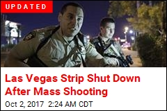 Las Vegas Strip Shut Down After Mass Shooting