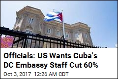 Officials: US Will Ask Cuba to Cut DC Embassy Staff