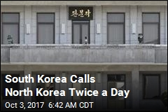 South Korea Calls North Korea Twice a Day