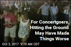 For Concertgoers, Hitting the Ground May Have Made Things Worse