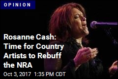 Rosanne Cash: 'NRA Funds Domestic Terrorism'