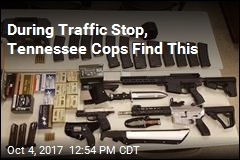 During Traffic Stop, Tennessee Cops Find This