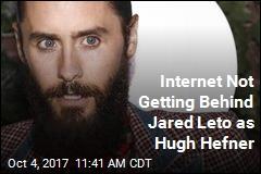 Internet Not Getting Behind Jared Leto as Hugh Hefner