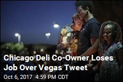 Chicago Deli Co-Owner Loses Job Over Vegas Tweet