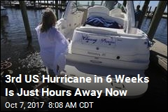 3rd US Hurricane in 6 Weeks Is Just Hours Away Now
