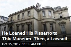 He Loaned His Pissarro to This Museum. Then, a Lawsuit.