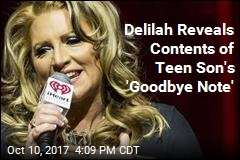 Delilah Describes Late Teen Son's Battle With Depression