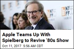 Apple Teams Up With Spielberg to Revive '80s Show