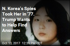 Trump to Meet Parents of Teen Taken by North Korean Spies