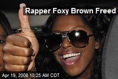 Rapper Foxy Brown Freed