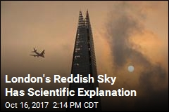 London's Reddish Sky Has Scientific Explanation