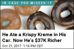 Man Wins $37K Settlement —for Doughnut Flakes in Car