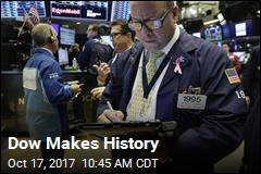 Dow Makes History