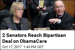 2 Senators Reach Bipartisan Deal on ObamaCare