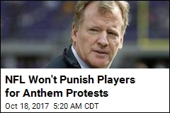 NFL Meeting Fails to End Anthem Controversy