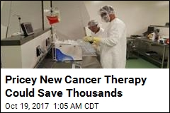 Pricey New Cancer Therapy Could Save Thousands