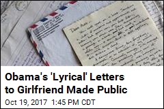 'Very Poetic' Letters Obama Sent to Girlfriend Made Public