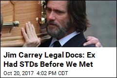 Jim Carrey Legal Docs: Ex Had STDs Before We Met