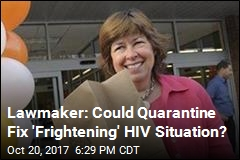 Georgia Rep. Muses About Quarantining People With HIV