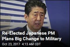 After Election Win, Japan PM Promises Hard Line on N. Korea