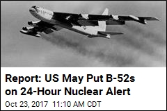 US May Return Nuclear Bombers to Cold War Status