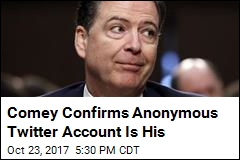James Comey Finally Admits Ownership of Twitter Account