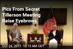 Photo of Tillerson's Afghan Meeting Was Doctored